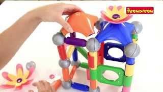 Магнитные конструкторы BONDIBON SmartMax ЦВЕТЫ(Собрать прекрасный красочный дом, нарядить его цветами, а еще собрать бесконечное количество интересных..., 2014-08-21T06:17:12.000Z)
