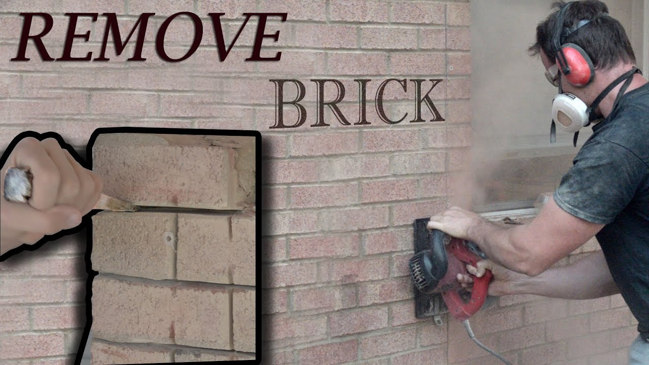 How To Remove Brick Porch Room Addition Project Vid 2