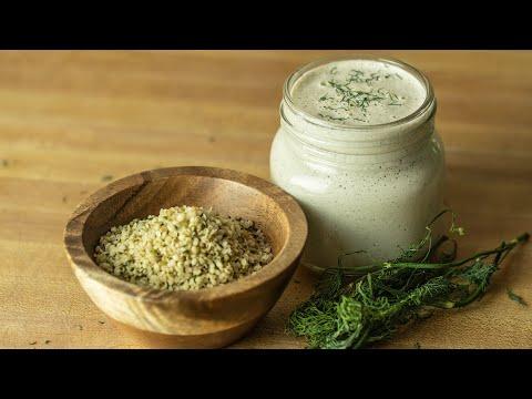 Hemp Seed Salad Dressing   Alkaline Electric