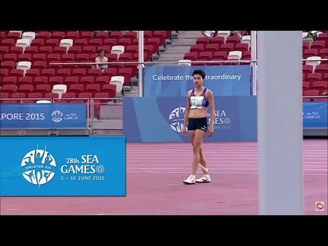 Athletics Women's Heptathlon  Women's High Jump (Day 6 morning) | 28th SEA Games Singapore 2015