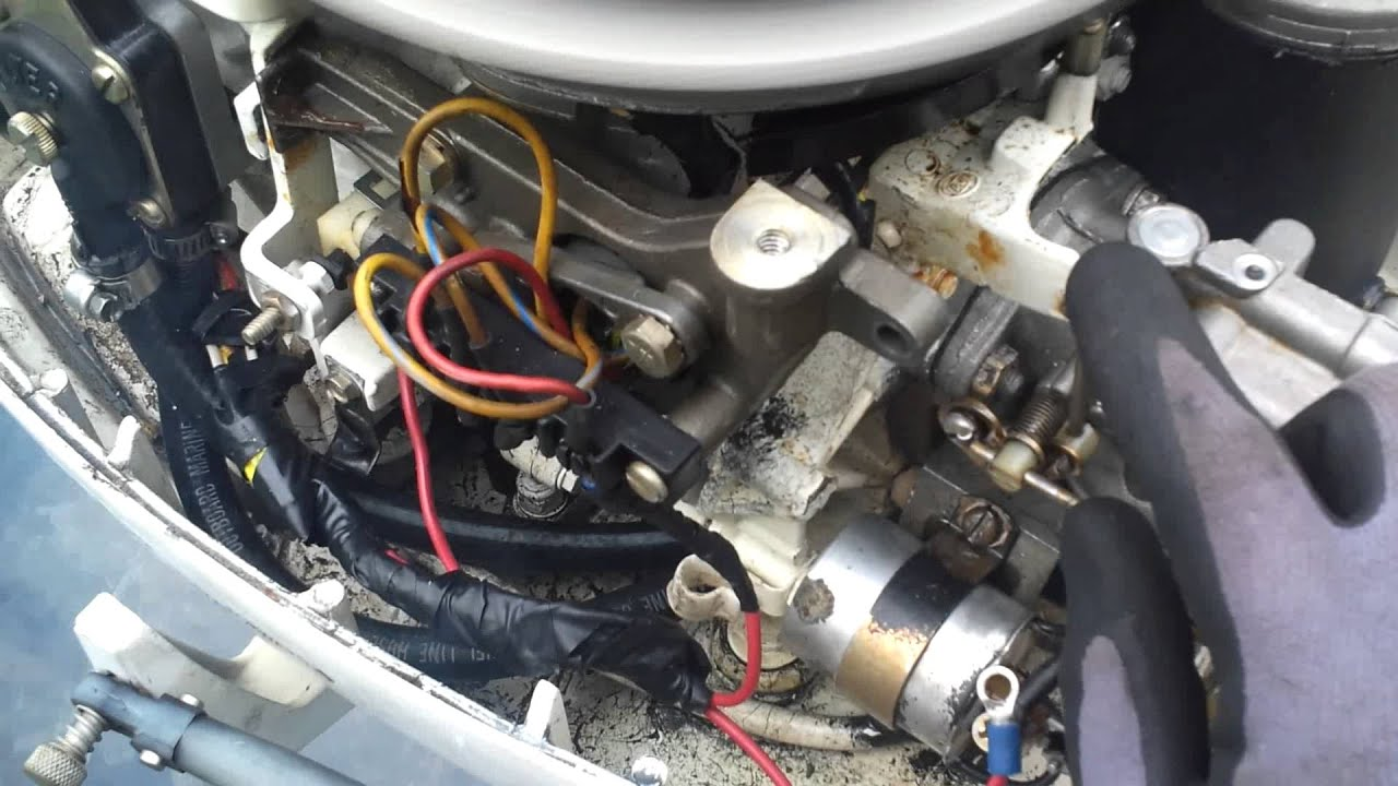 evinrude 70 wiring diagram simple digestive system project after i adjusted low speed idle out 2 more turns - youtube