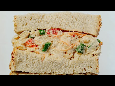Ultimate Chickpea Salad Sandwich | Chickpea Filling | Easy Vegan Recipe