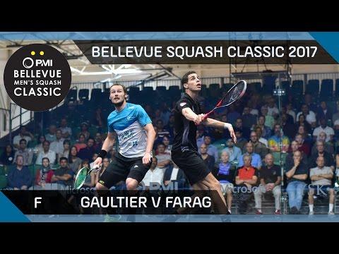 Squash: Gaultier v Farag - Bellevue Squash Classic 2017 Final Highlights