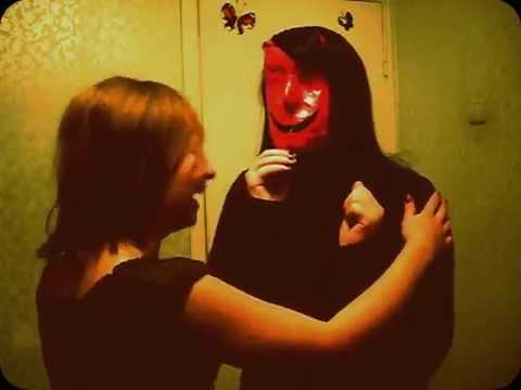 Человек с красным лицом. Ужас. A man with a red face. The horror.