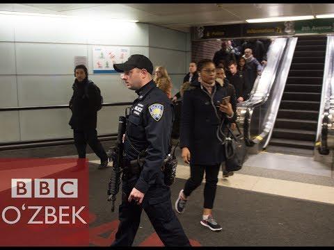 Нью-Йоркда портлаш юз берди - BBC O