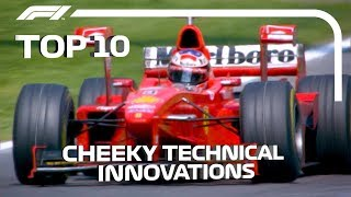 Top 10 Cheeky F1 Innovations
