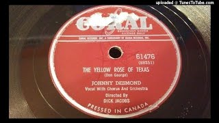 Johnny Desmond - The yellow rose of Texas (78rpm)