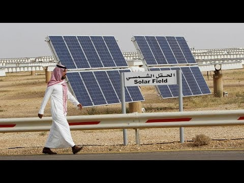 Saudi Prince builds biggest solar power plant in the world: it costs $200B and will be finished by 2