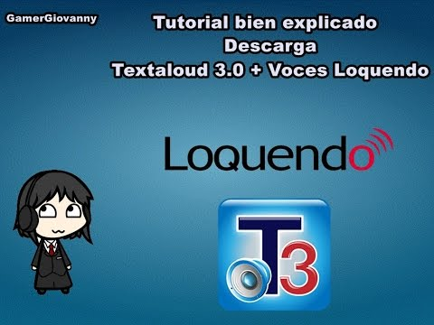 Descarga textaloud 3 full con todas las voces loquendo for Todas las descargas