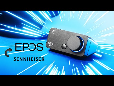 Sennheiser Has LEFT The Chat - EPOS GSX 300 Gaming DAC Review