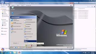 Microsoft Bobcat (Windows .net Beta) Small Business Edition Beta 1 Build 3604 in Windows Virtual PC