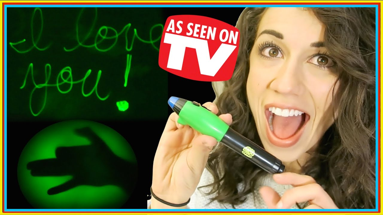 Glow Crazy Pen - Tv