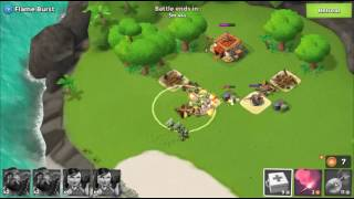 ???? Boom Beach 15? 89?? (9) Flame Burst Heavies & Zookas