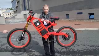 видео Электровелосипед с мотором от RC