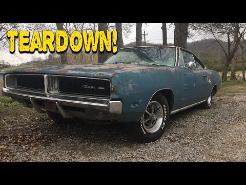 ABANDONED 1969 CHARGER UPDATE + Giveaway!