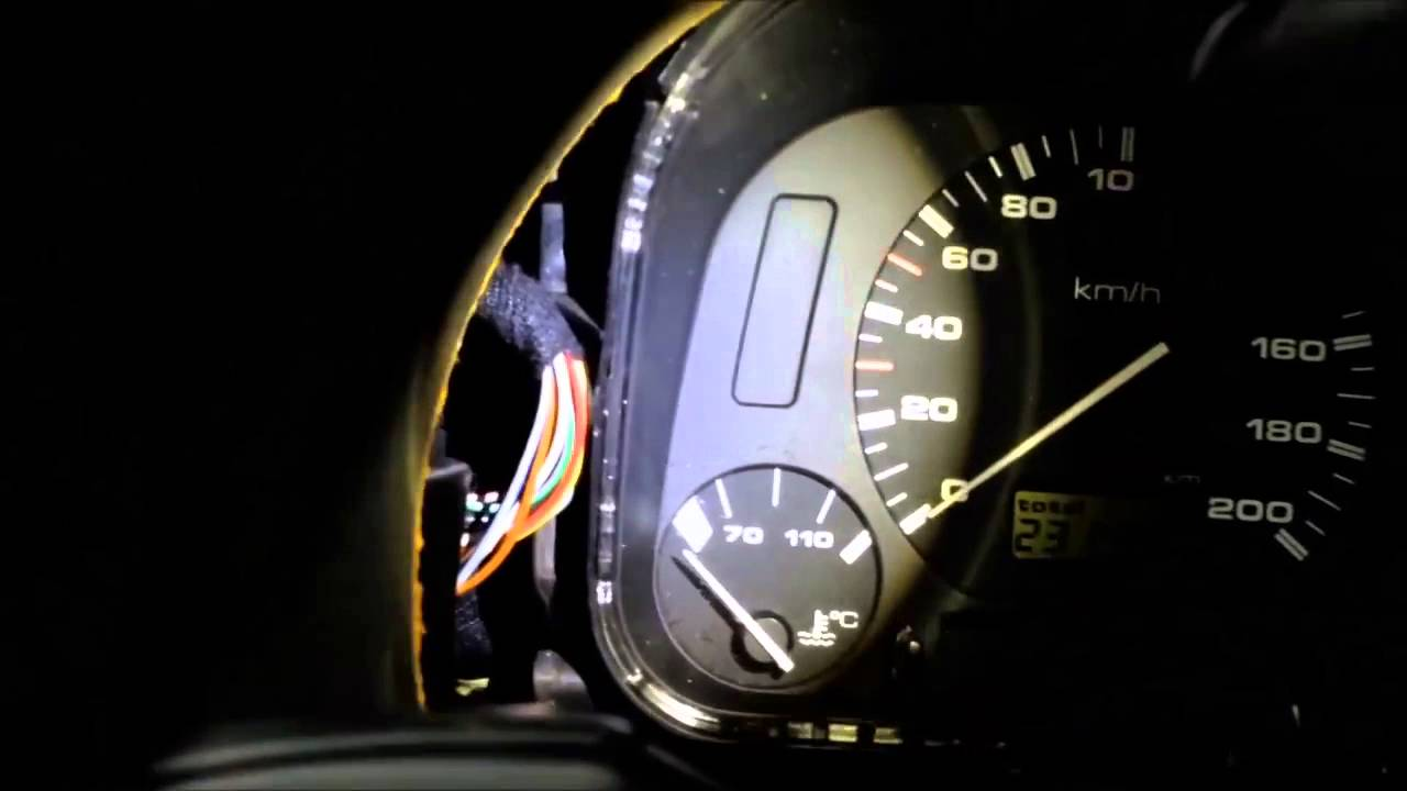 How To Replace Instrument Panel Lights On Vw Polo 6n 1996 Youtube