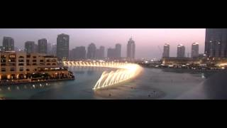 Breath-Taking Dubai Fountains Whitney Houston Tribute - I Will Always Love You