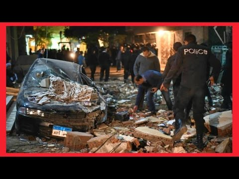 ISIS CLAIMS BOMB BLAST NEAR PYRAMIDS IN CAIRO, EGYPT - 22nd Jan 2016 End Times News
