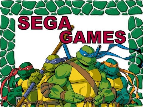 Teenage Mutant Ninja Turtles: Tournament Fighters. SEGA [Прохождение / Walkthroug]