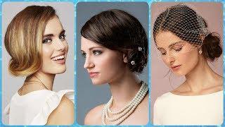 Piękny fryzury weselne na srednich wlosach