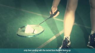 badminton specific training 11 pick up a shuttlecock with your racket