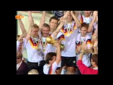 Fussball Wm 1990 Finale Empfang Frankfurt