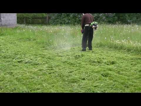 Oryginał Koszenie trawy kosa spalinowa - YouTube CB65