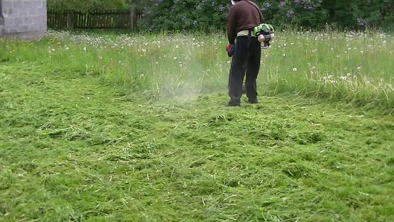 W Mega Koszenie trawy kosa spalinowa - YouTube SN52