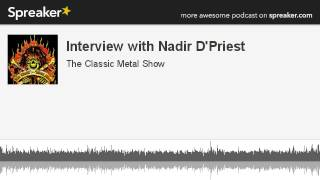 CMS HIGHLIGHT – Interview with Nadir D'Priest – 2013