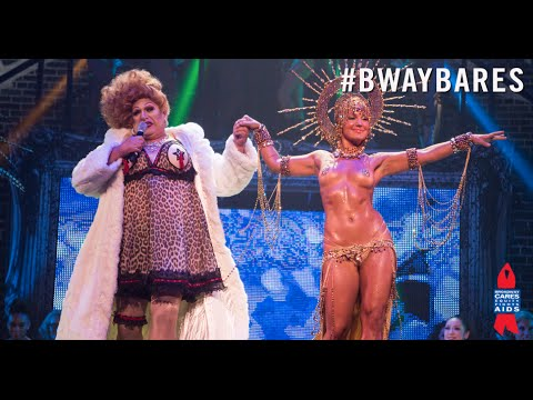 Broadway Bares 2015: Top Bottoms of Burlesque Opening - Harvey Fierstein