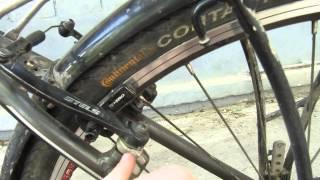 О.К. и Н.В. Тормозная система V-Brake(Данное видео содержит компоненты: тормозные дуги V-Brake Stels, комбинированные с тормозными ручками переключат..., 2015-05-17T11:21:07.000Z)