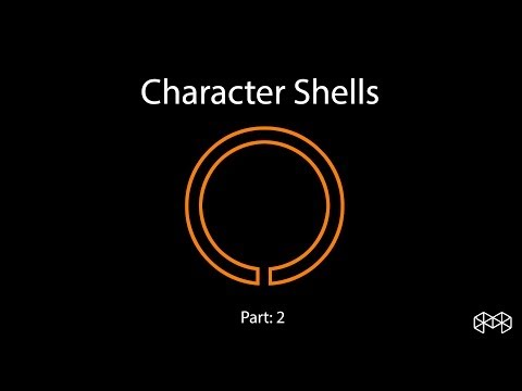 Making character shells in ZBrush Part 2