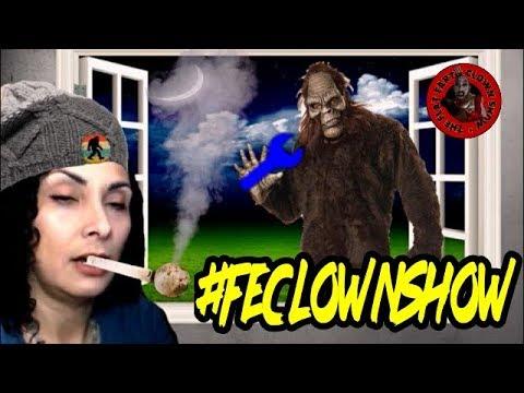 FLAT EARTH BIGFOOT👹HUNTERS - Karen B vs Bigfoot Killers thumbnail