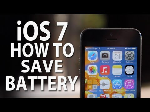 how to save iphone battery ios 7 how to save battery iphone 5s 5c 2547