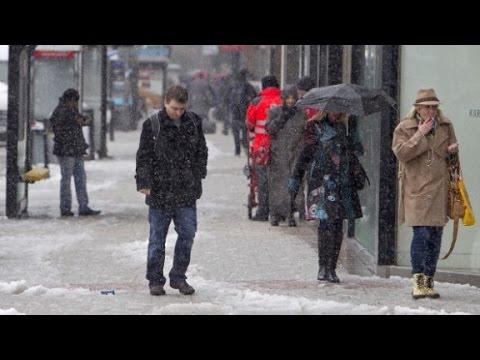 Mix of rain, snow to pummel Eastern U.S.