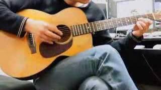 ついでにもう1曲。 押尾さんの演奏の中では簡単な曲。 しかし、雰囲気を出すのは難しいです。