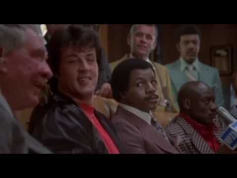 Rocky II  Heated Press Conference 1979