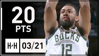 Jabari Parker Full Highlights vs Clippers (2018.03.21) - 20 Points, 6 Reb off the Bench