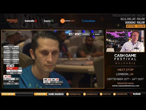 Sunny Beach, Bulgaria Cash Game Festival - 10 August 2017