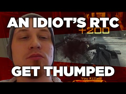 An Idiot Does A Call Of Duty RTC: Get Thumped