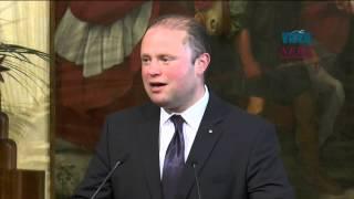 Press Conference Of Italian Pm Renzi And Maltese Pm Muscat In Rome