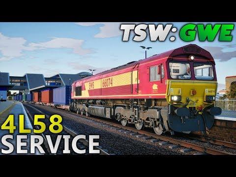 TSW: Great Western Express - 4L58 Service Run (EWS Class 66 Reskin)