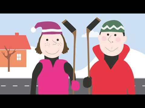 Hockey Song for Kids | zamboni | street hockey | learn to skate