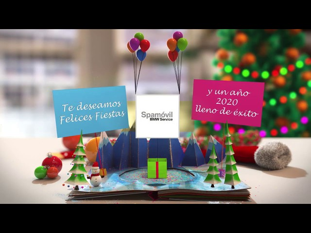Spamovil Taller BMW Autorizado en Paterna os Desea Feliz Navidad