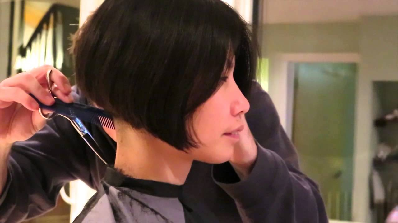 From Long Bob To Short Bob Youtube