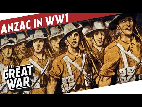 Born On The Shores Of Gallipoli - ANZAC in WW1 I THE GREAT W