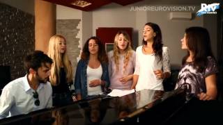 The Peppermints - Breaking My Heart (San Marino) 2014 Junior Eurovision Song Contest