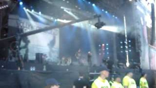 Hollywood Undead My Black Dahlia @ Download Festival 2009