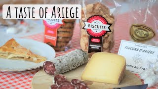 Tasting local specialties (Ariège)