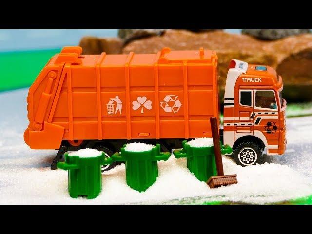 Мультфильмы про спецтехнику мусоровозы аукцион спецтехники по аренде